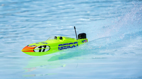 "PROBOAT 17"" Power Boat Racer Deep-V RTR, Miss Geico"