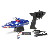"ProBoat Sprintjet 9"" Self-Righting Jet Boat Brushed RTR, Blue"