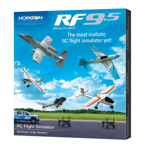 RealFlight 9.5 Flight Simulator, Software Only (RFL1201)