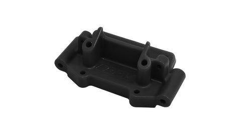 RPM Front Bulkhead, Black: TRA 2WD Vehicles