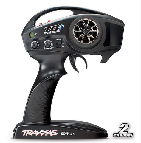 6509R: Traxxas TQi 2.4GHz (2-Channel) Intelligent Radio System w/Traxxas Stability Management