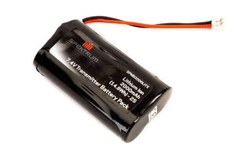 Spektrum 2000mAh Transmitter Battery: DX9, DX8, DX5 Pro