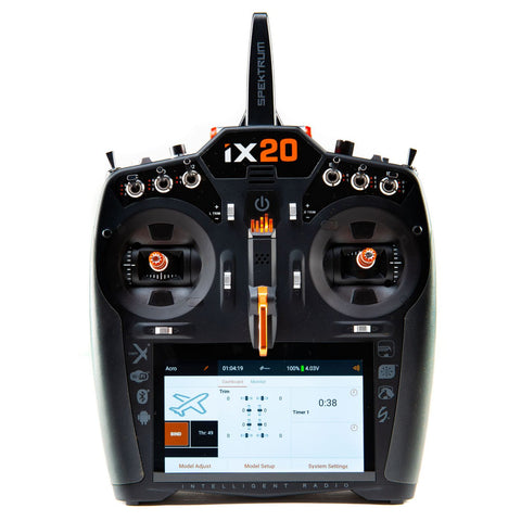 Spektrum iX20 20-Channel DSMX Transmitter Only, Black