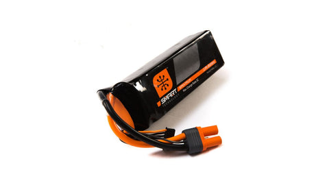 Spektrum 11.1V 3200mAh 3S 30C Smart LiPo Battery, IC3