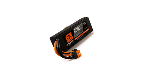 SPEKTRUM 7.4V 5000mAh 2S 30C Smart LiPo Battery, Hardcase, IC3 (SPMX50002S30H3)