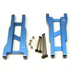 STRC Aluminum Rear A-Arm Set For Traxxas Stampede/Rustler (1 Pair) Blue (ST3655XB)