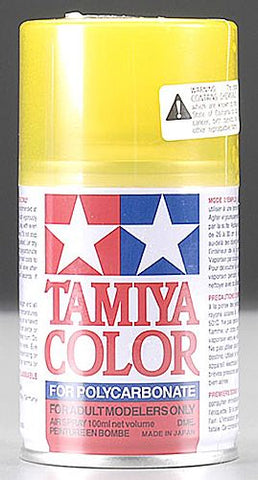 Tamiya Polycarbonate PS-42 Translucent Yellow (TAM86042)