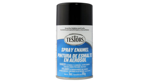TESTORS Spray 3 oz Black (TES1247T)
