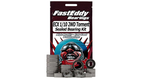 Fast Eddy Sealed Bearing Kit: ECX 1/10 2WD Torment (TFE3976)*