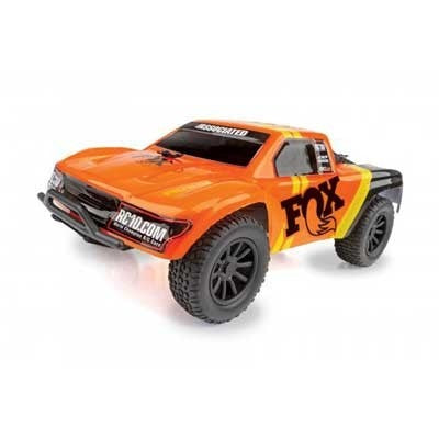 Team Associated 1/28 SC28 2WD SCT Brushed RTR, Fox Edition: Orange