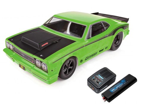 Team Associated DR10 RTR Brushless Drag Race Car Combo (Green) w/2.4GHz Radio, DVC, Battery & Charger (ASC70026C)