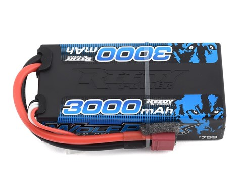 Reedy WolfPack 3S Hard Case Shorty 30C LiPo Battery (11.1V/3000mAh) w/Deans Connector