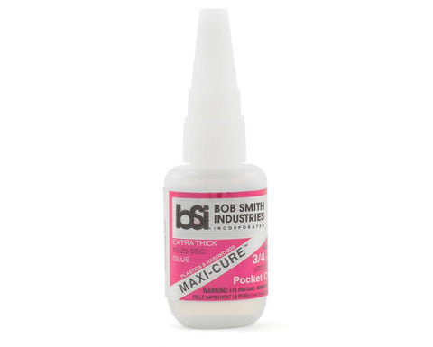 BOB SMITH Maxi-Cure Pocket CA Glue 3/4 Oz. (BSI-135)