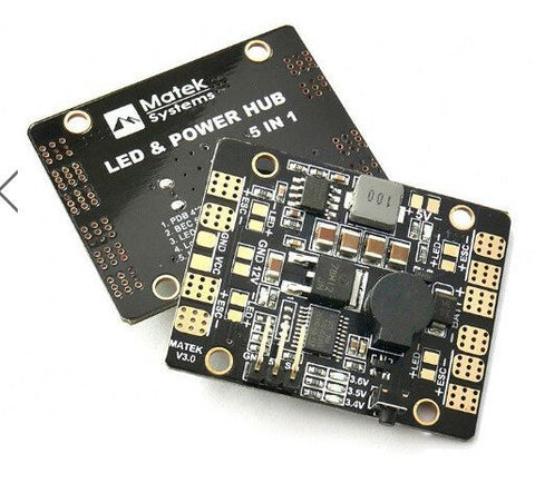 MATEK LED & POWER HUB 5in1 V3 Power Supply Board