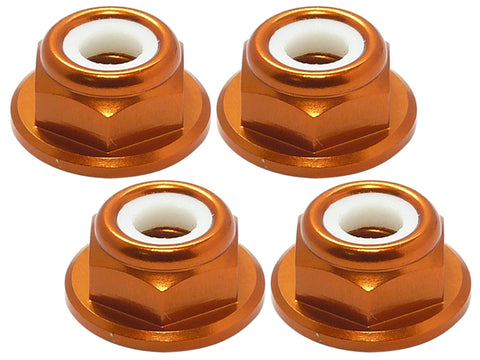 M5 Propeller Lock Nut (2CW/2CCW) - Orange