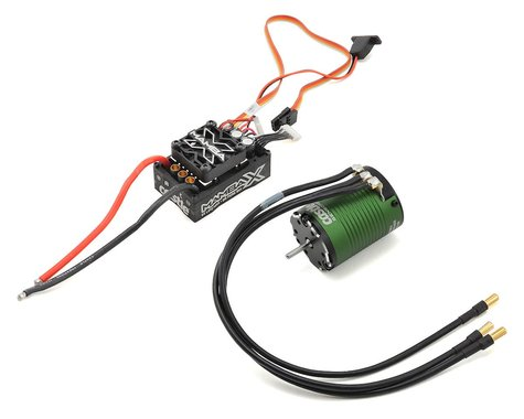 CASTLE CREATIONS Mamba X 1/10 Brushless Combo w/1406 Sensored Motor (7700kV)