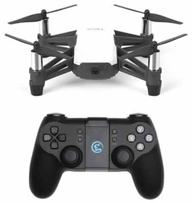 Ryze Tello Mini Drone With Gamesir Remote Controller