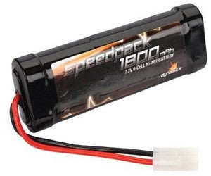 Dynamite Speedpack 1800mAh NiMH 6-Cell  7.2V Flat with TAM Conn