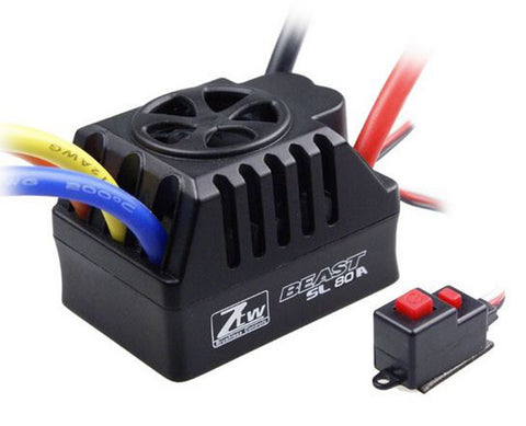ZTW Beast SL 80A Short Course Truck Brushless ESC