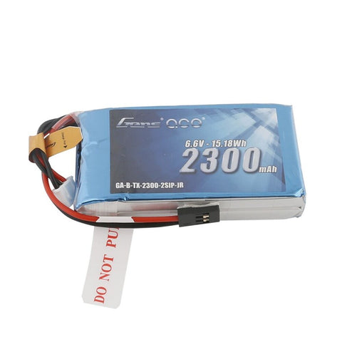 Gens ace 2300mAh 6.6V 2S1P TX LiFe Battery Pack with JR-3P Plug