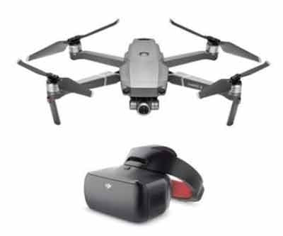 DJI Mavic 2 Zoom Combo With DJI Race Edition Goggles