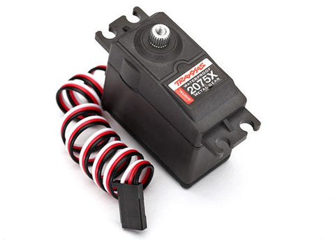 2075X: Traxxas Servo, Digital High-Torque, Metal Gear (Ball Bearing), Waterproof