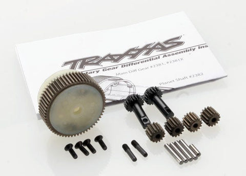 2388X: Traxxas Planetary Gear Differential w/Steel Ring Gear