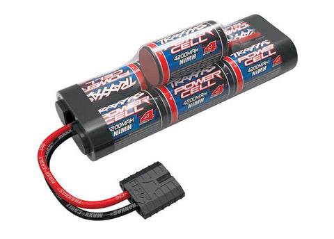 2951X: Traxxas  Battery, Series 4 Power Cell, 4200mAh (NiMH, 7-C hump, 8.4V)