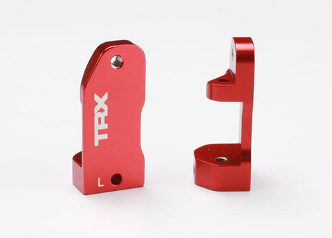 3632X: Traxxas Caster Blocks, 30-Degree, Red-Anodized