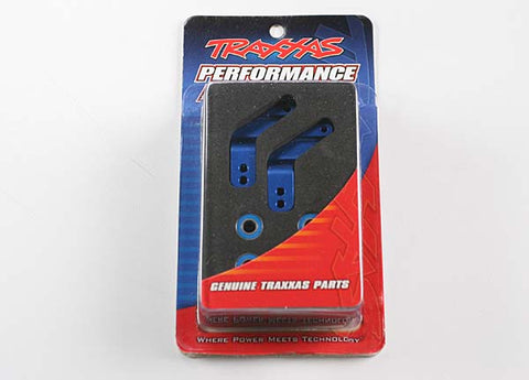 3652A: Traxxas Stub Axle Carriers BLUE  3652A
