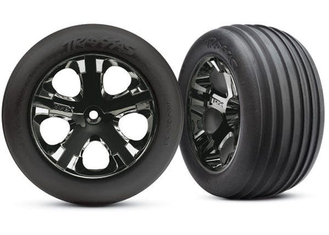"3771A:  Traxxas Tires & Wheels, Assembled, Glued (2.8"")"