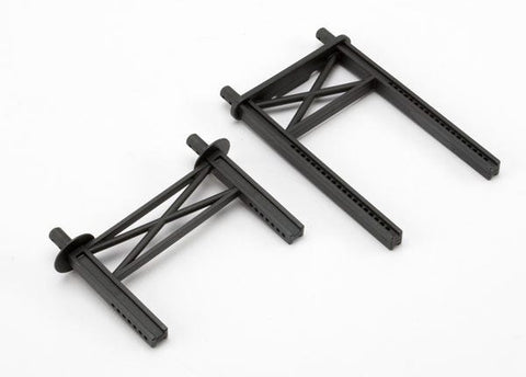 5616: Traxxas Body Mount Posts, Front & Rear (tall, for Summit)**