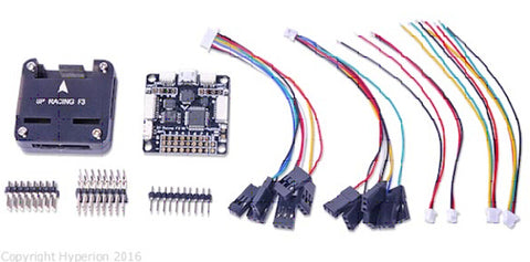 HYPERION F3 Flight Controller Deluxe with Compass and Altitude