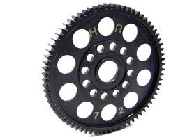 Hot Racing Hardened Steel Spur Gear (72T 32P) - TRA 1.5,2.5 (STMX3272T)