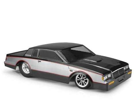 JCONCEPTS 1987 Buick Grand National Street Eliminator Drag Racing Body (Clear) (JCO0357)