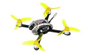 KingKong Flyegg 130 130MM F3 10A 4-in-1 BlHeli-S 25/100MW 16CH 80TVL Racing Drone PNP