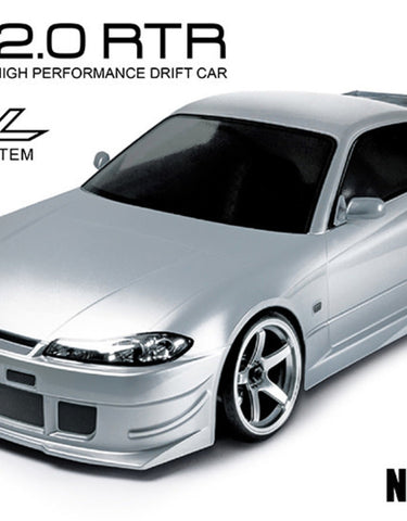 RMX 2.0 RTR NISSAN S15 (silver) (brushless)