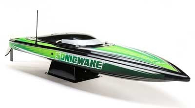 "PROBOAT Sonicwake 36"" Self-Righting Brushless Deep-V RTR, (Black)"