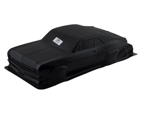 Pro-Line 1969 Chevrolet Nova Tough-Color Short Course Drag Car Body (Black) (PRO353118)