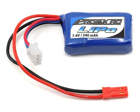 ProTek RC 2S High Power 30C Micro LiPo Battery (7.4V/240mAh) w/JST Connector (PTK-5185)