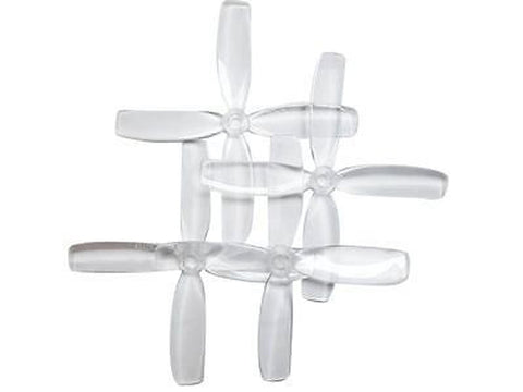 RaceKraft 4040 3 Blade Props / Propeller Clear Quad / Quadcopter