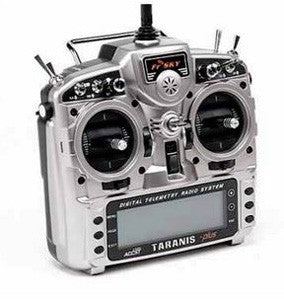 FrSky Taranis X9D+ 16Ch. Digital Telemetry TX - Mode 2 (US Charger)