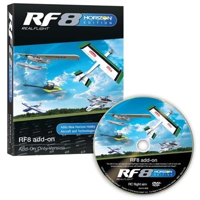 REAL FLIGHT RF8 Horizon Hobby Edition Add-On (RFL1002)