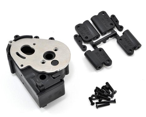 RPM Hybrid Gearbox Housing & Rear Mounts (Black) (RPM73612)