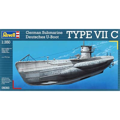 Revell Germany 1/350 U-Boot Typ VIIC