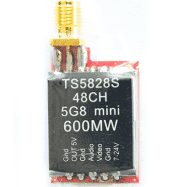 TS5828S 40 Channel 5.8G 600mW FPV Video Transmitter