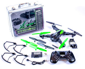 RAGE RC Stinger 2.0 RTF WiFi FPV Drone w/1080p HD Camera (RGR4400)