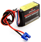 SPEKTRUM 6.6V 3000mAh 2S LiFe Receiver Battery (SPMB3000LFRX)