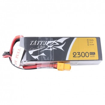 Tattu 2300mAh 45C 3S1P Lipo Battery Pack with XT60 Plug