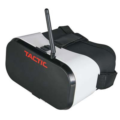 "Tactic FPV-G1 Goggles W/4.3"" Monitor 5.8GHz 40Ch/Rce"